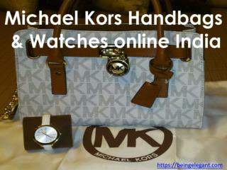Michael Kors Handbags & Watches online India