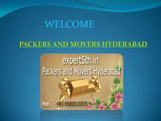 Expert5th Packers and Movers Hyderabad - Houseld Shifting Services