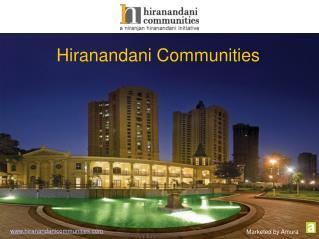 Hiranandani Communities - Real Estate Company in Mumbai