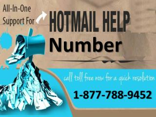 Hotmail Help 1:877:788:9452 tollfree number for email help