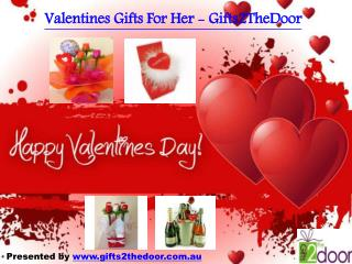 Valentines Gifts for Him Online Australia - Gifts2TheDoor