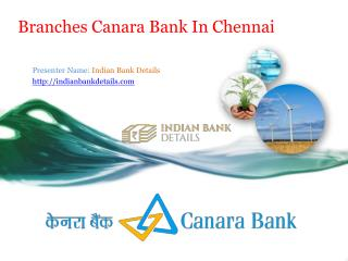 MICR code for canara bank in chennai