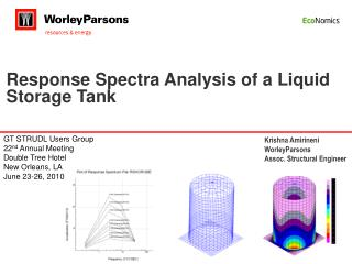 Response Spectra Analysis of a Liquid Storage Tank