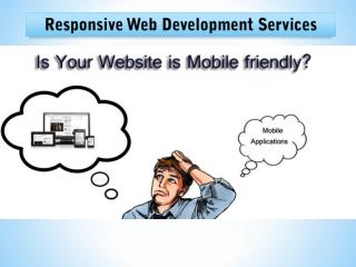 Responsive web design company in Bangalore