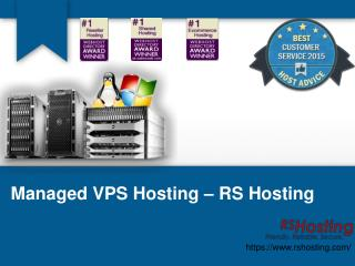 Managed VPS Hosting - RS Hosting