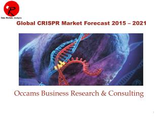 Global CRISPR Market, Genome Editing Market Report