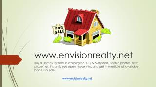 Buy a Homes for Sale in Washington, DC & Maryland