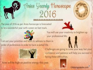 Aries Love Horoscope 2016 | Free Yearly Horoscope Predictions