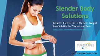 Remove Excess Fat with best Weight Loss Solution for Woman and Man