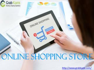 Online shopping store in india grab karts