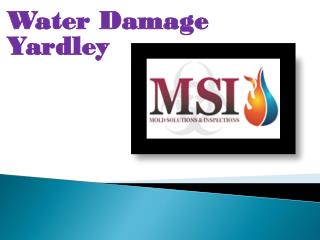 Water Damage Yardley