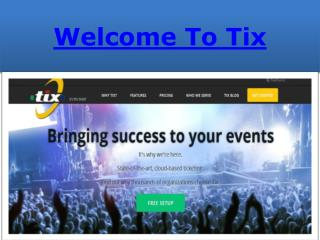 Online Event Ticketing System Software| Sell Tickets Online| Online Ticketing Software