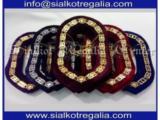 Blue Lodge chain collar new