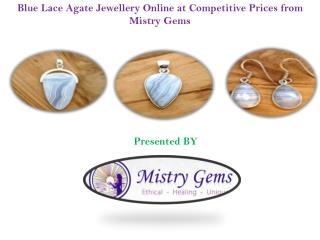 Stylish Blue Lace Agate Jewellery