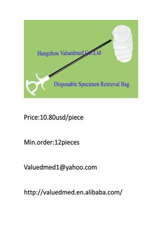 Medical supplies factory wholesale price