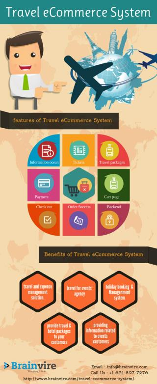 Travel eCommerce System - one stop solution for all 'travel for event' agencies.