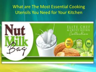 What are The Most Essential Cooking Utensils You Need for Your Kitchen