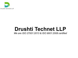 Drushti Technet LLP | Managed Hosting