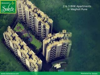 Solacia - Properties in Wagholi Pune for Sale