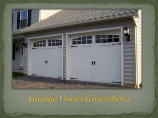 Repair - Garage Door Repair Greensboro