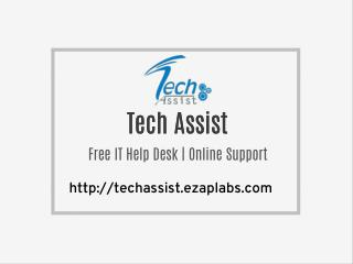 Free IT Help Desk | Online Support