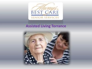 Assisted Living Torrance