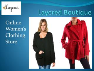 Women Winter Collection by Layered Boutique