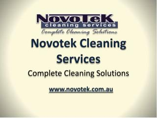 Novotek Cleaning Services Newcastle