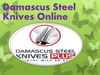 Damascus Steel Knives Online