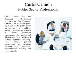Curtis Cannon City of Oxnard