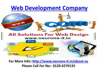 Creative Web design Services in Delhi Call 0120-4270133