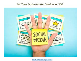 Let Your Social Media Boost Your SEO