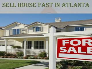 Sell House Fast In Atlanta