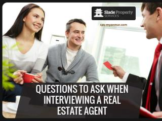 Tips to Hire a Professional Real Estate Agent in Yangon
