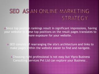 Take advantage of SEO company Noida