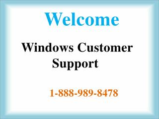 1-888-989-8478 Window XP Customer Support Number