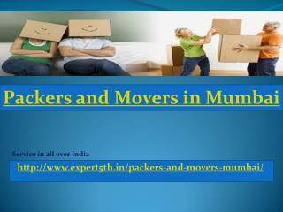 Expert5th Packers and Movers in Mumbai High Quality Movers, Reliable and Fast!