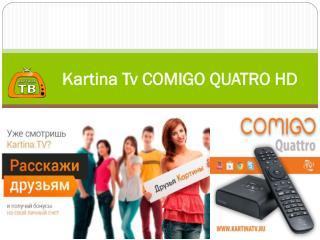 Kartina Tv Comigo Quatro Hd