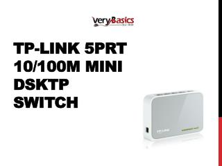 TP-Link 5prt 10100M mini Dsktp Switch
