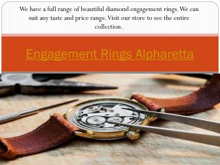 Watch Repair Alpharetta