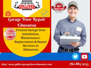 Garage Door Safety Tips For Homeowners By Edmonton Garage Door Technicians