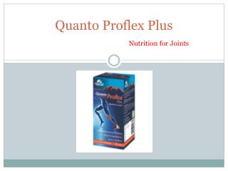 Herbal Medicine for Arthritis - Quanto Proflex Plus
