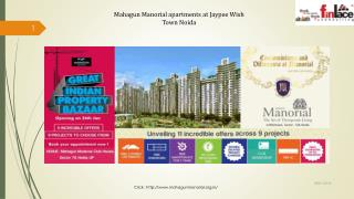 Mahagun Manorial Apartments/Villas in Sector 128, Noida