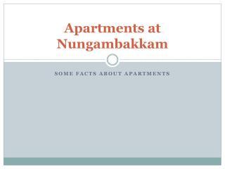 Apartments at Nungambakkam - Vin Homes