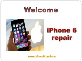 iPhone 6 camera repairs | iPhone 6 screen repairs | iPhone 6 screen repair services