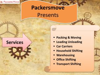 Packersmove provides online services in various cities at affordable price.