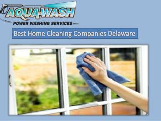 Best Home Cleaning Companies Delaware