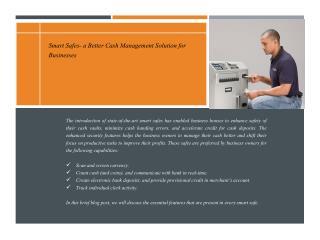 Cash Management Solution for Businesses