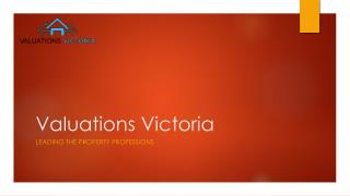Online property valuations | property valuation Australia | property valuation company
