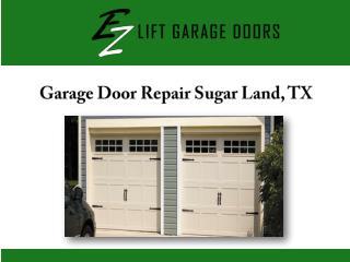 Garage Door Repair Sugar Land, TX